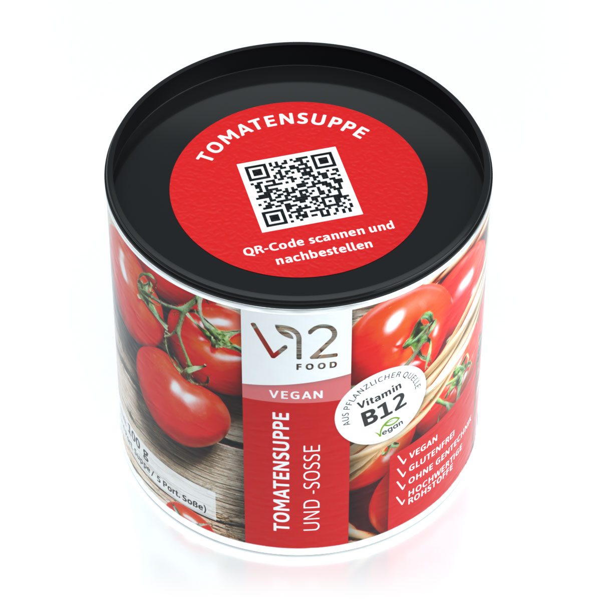 V12 Tomatensuppe &-Soße